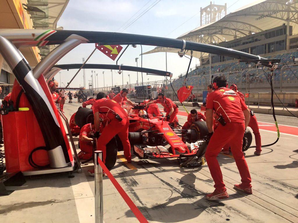 F1 GP Bahrain, Prove Libere 1: Vettel precede le Red Bull