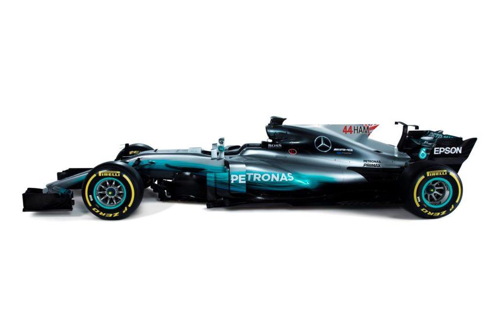 F1 | Mercedes svela la livrea della W08 EQ Power con nomi e numeri più grandi