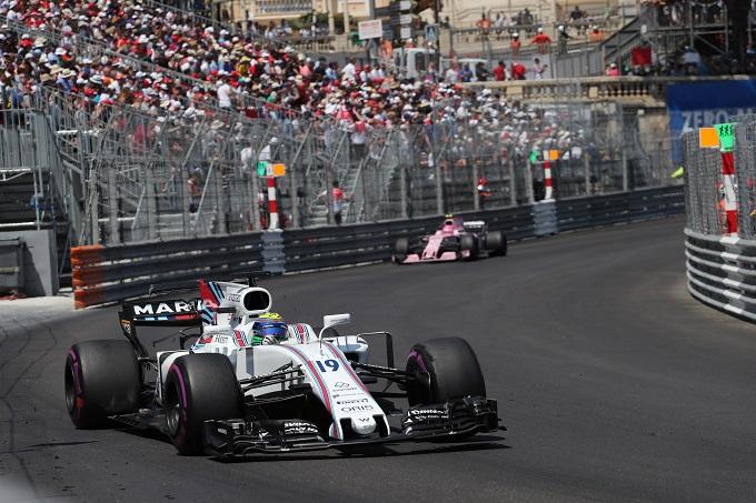 F1 | Williams a punti con Felipe Massa nel GP di Monaco