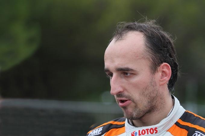 Robert Kubica ha testato una vettura di Formula E