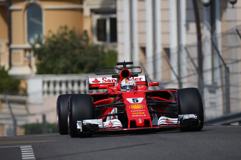 F1 GP Monaco, Prove Libere 2: Vola la Ferrari con Vettel