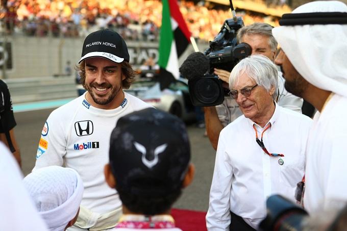 """F1   Bernie Ecclestone: """"Fossi nella Ferrari andrei su Alonso"""""""
