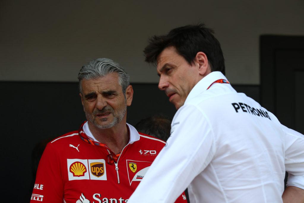 """F1   Mercedes, Wolff: """"La Ferrari gestisce alla grande le gomme"""""""