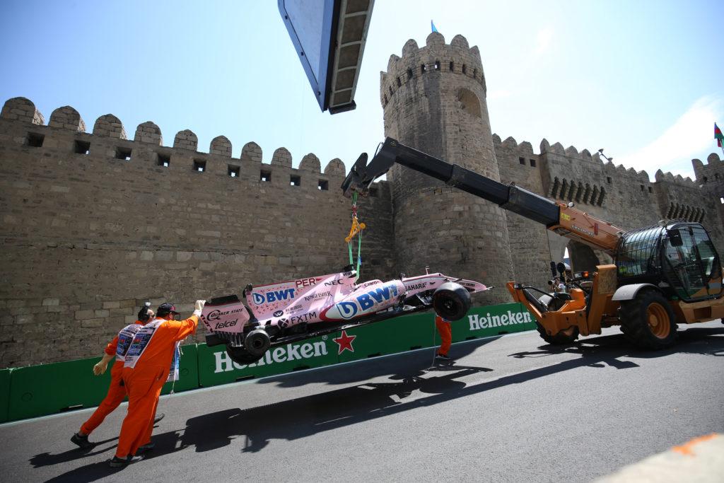 F1 | GP Baku, modifiche alla curva 8 dopo gli incidenti
