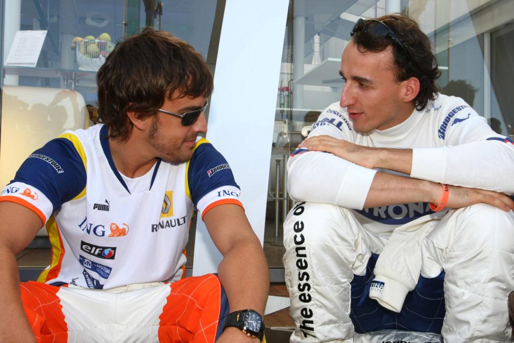 """F1   Alonso: """"Kubica è il migliore della sua generazione"""""""