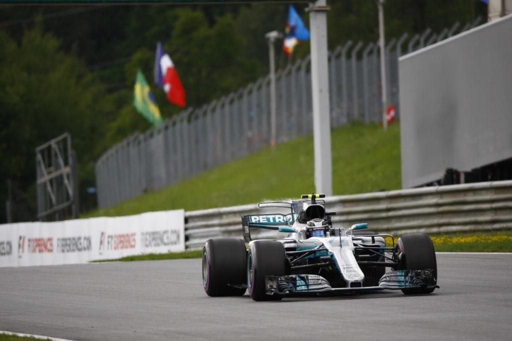 F1   GP Austria, la griglia di partenza