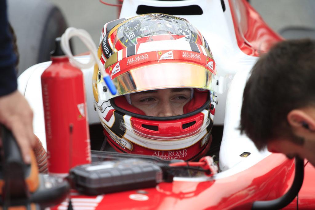 F1 | Ferrari, Leclerc sulla SF70H nei test di Budapest
