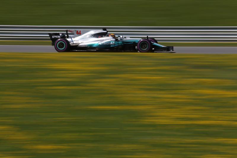 F1 GP Austria, Prove Libere 2: Hamilton chiude la prima giornata al top