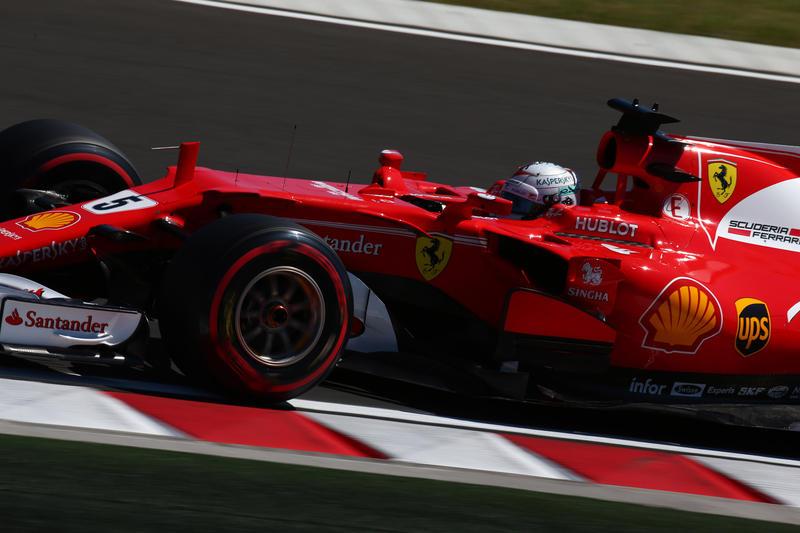 F1 GP Ungheria, Qualifiche: Prima fila tutta Ferrari, Vettel in pole