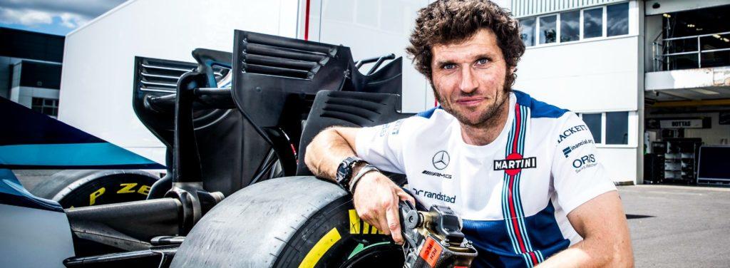 F1   Guy Martin diventa un meccanico Williams