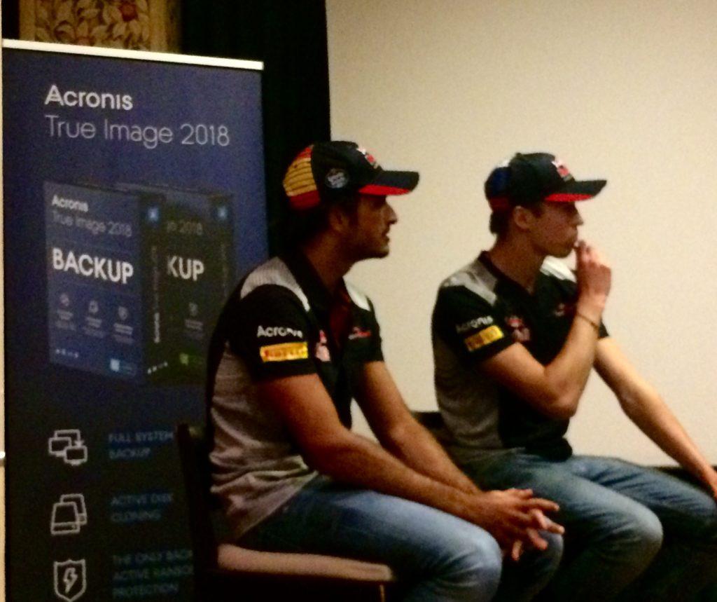 F1| Toro Rosso e Acronis insieme nello sviluppo