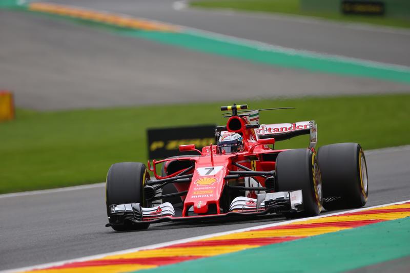 F1 GP Belgio, Prove Libere 3: Raikkonen davanti a Vettel