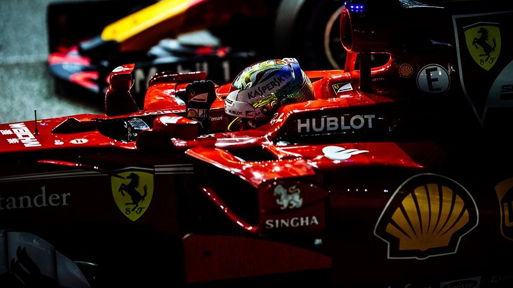 F1 | Sorpresa Vettel nelle qualifiche di Singapore. Raikkonen sorprende in quarta posizione