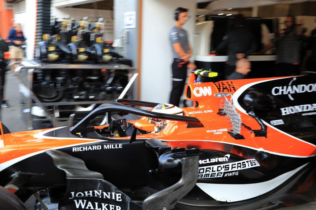 Formula 1   La FIA conferma le prove statiche sui telai per l'adozione del sistema Halo