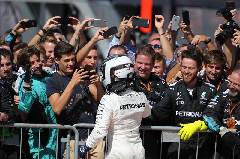 """F1   Bottas: """"Oggi velocissimi, ma a Singapore sarà diverso"""""""