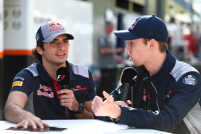 "F1 | Toro Rosso, Kvyat: ""Addio di Sainz? Sto piangendo…"""