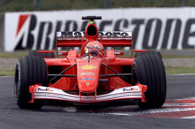 F1 | La Ferrari 2001 di Michael Schumacher in vendita a 4 milioni di dollari