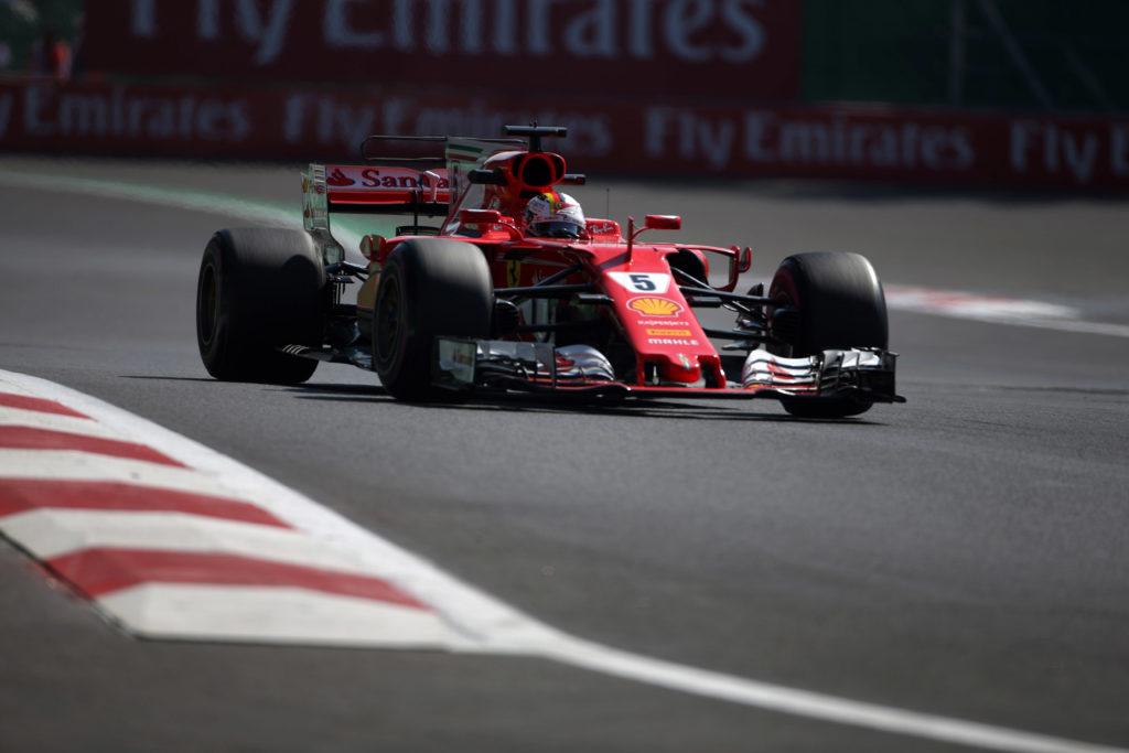 F1   Gran Premio del Messico – Un intenso venerdi' per le SF70H di Raikkonen e Vettel