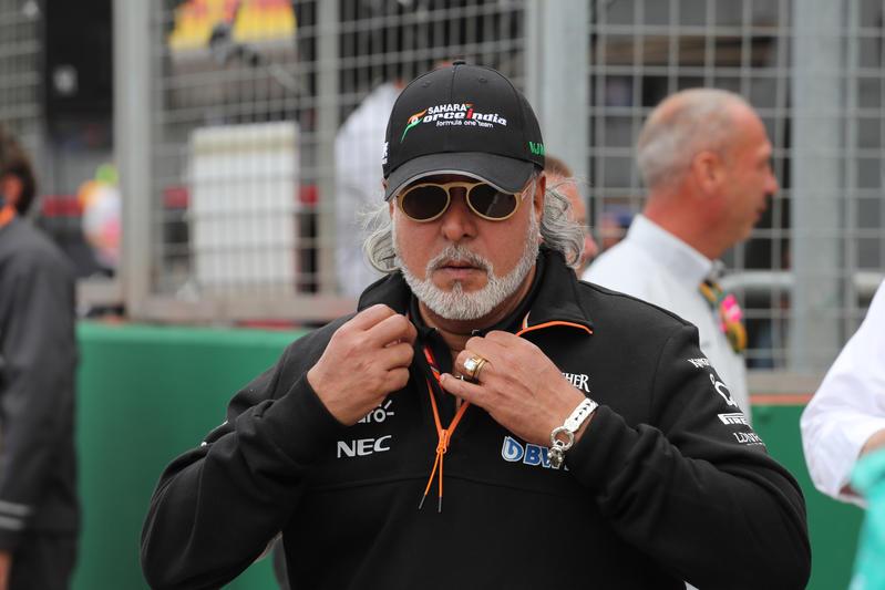F1 | Force India, arrestato e poi rilasciato su cauzione Vijay Mallya