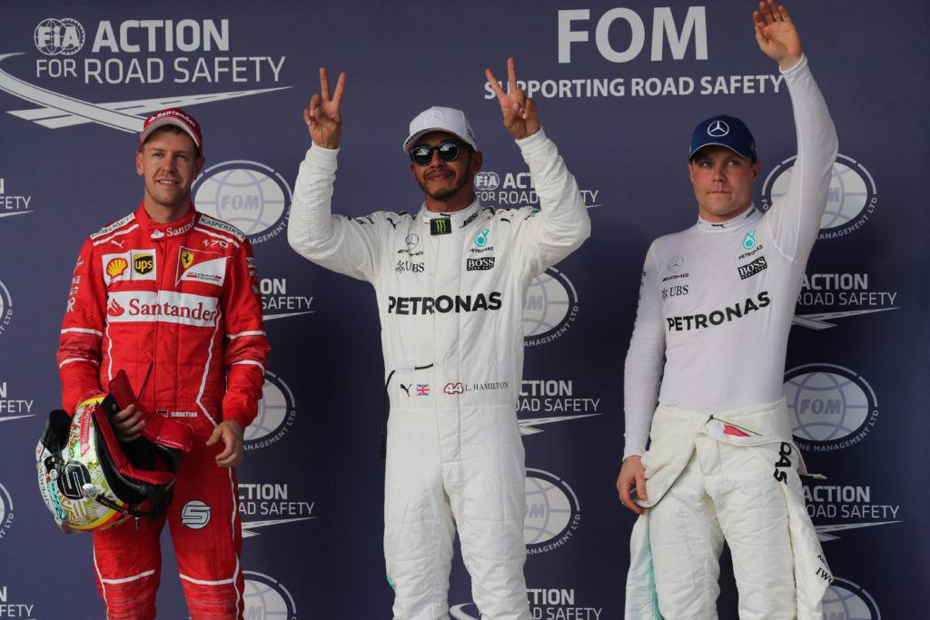 F1   Gran Premio degli Stati Uniti, la griglia di partenza