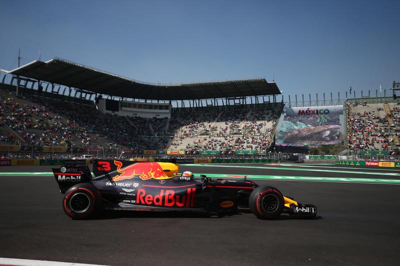 F1 GP Messico, Prove Libere 2: Vola la Red Bull con Ricciardo