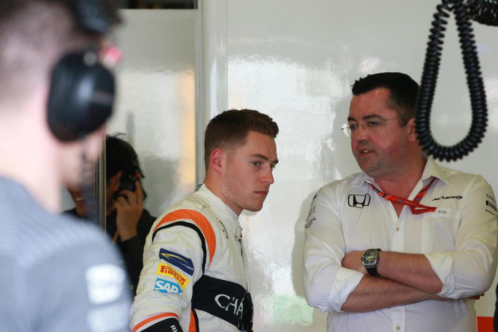 """F1   Boullier: """"Tanta pressione su Vandoorne, ma sta migliorando molto"""""""