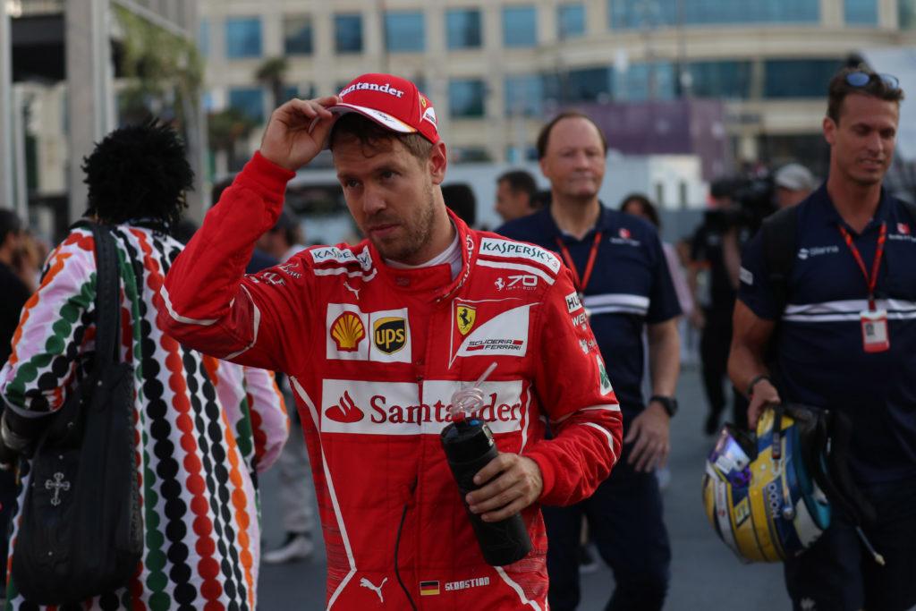 """F1   Vettel ammette: """"A Baku ho sentito di aver deluso la squadra"""""""