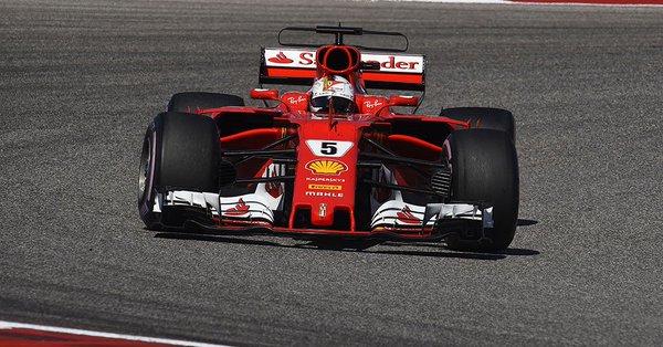 """F1   Vettel: """"La strategia non c'entra, Mercedes più veloce"""""""