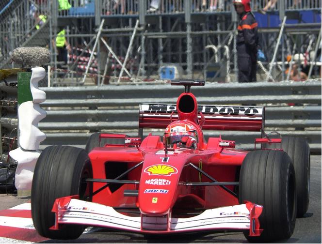 F1   Battuta all'asta la Ferrari F2001 di Michael Schumacher