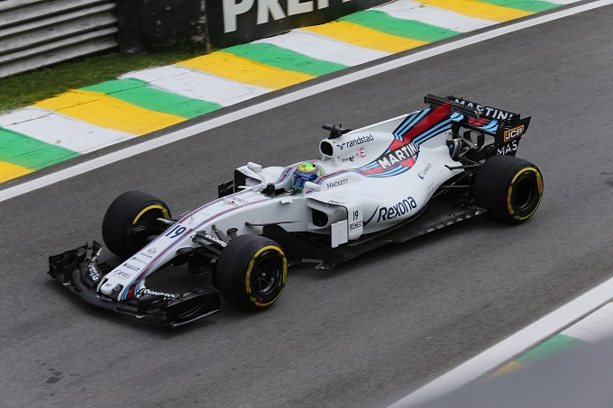 "F1 | Williams, Massa: ""Buon venerdì"""