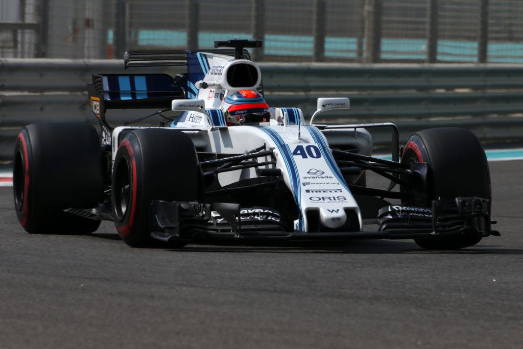 F1   Williams, test Pirelli ad Abu Dhabi: Robert Kubica chiude 7°