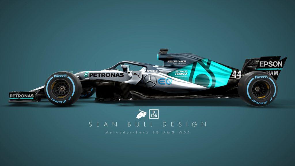 Formula 1 | L'accattivante livrea 2018 della Mercedes: ecco la bozza