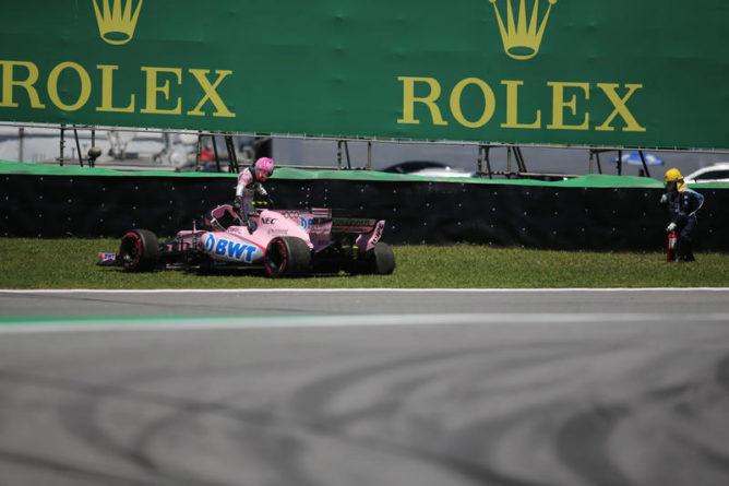"""F1   Force India, Ocon: """"Grosjean ha commesso un errore"""""""