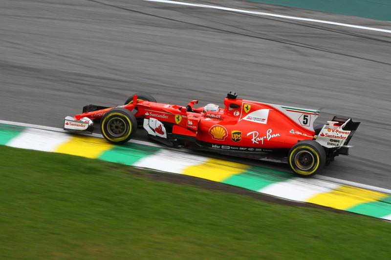 F1 GP Brasile: Ferrari sul podio con Vettel vincitore