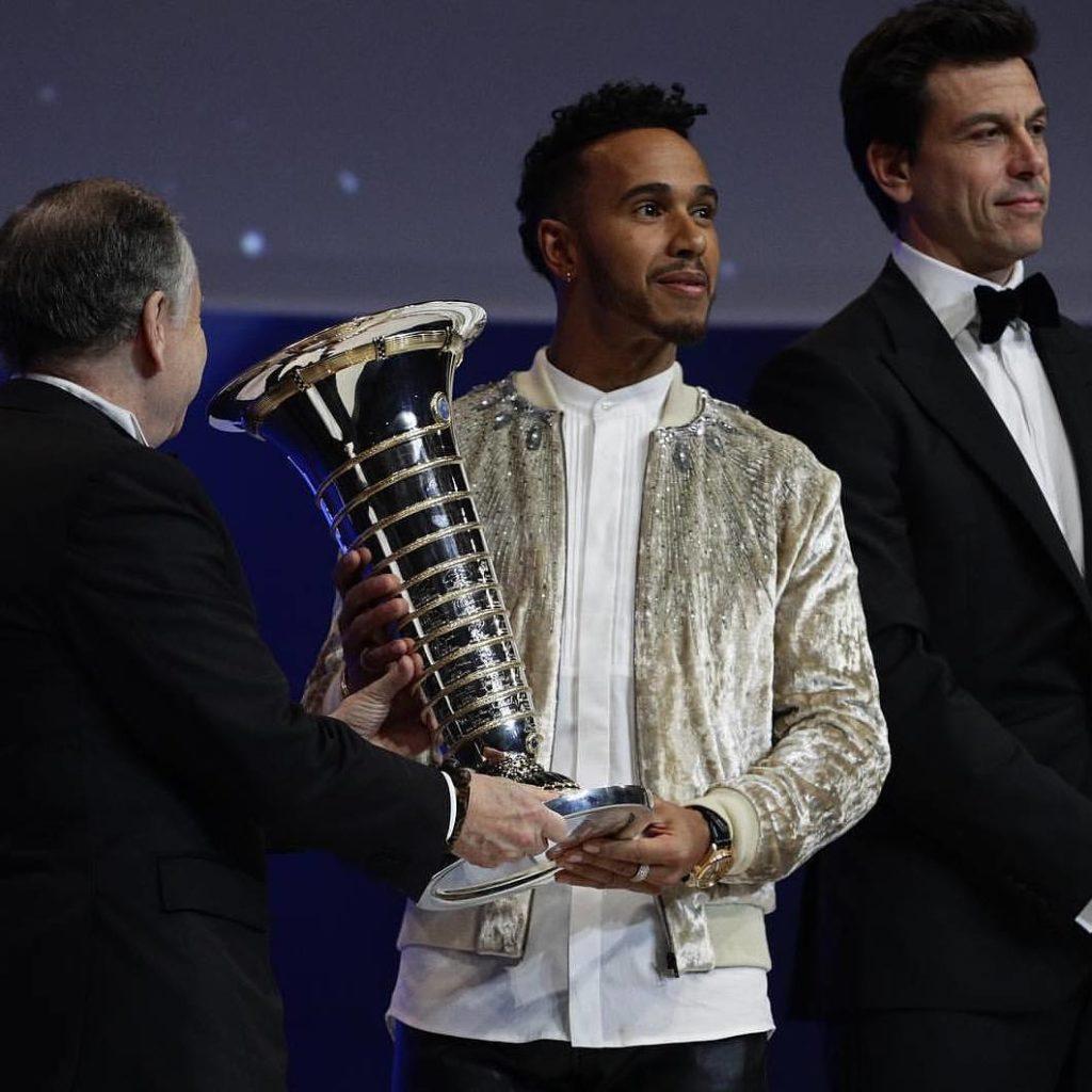 F1 | Premiati Hamilton e la Mercedes al FIA Prize Giving Ceremony