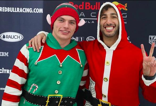 F1   Ricciardo e Verstappen pronti per il Natale