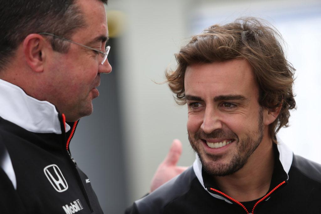 """F1   Boullier parla di Alonso: """"È come uno squalo, va dritto all'obiettivo"""""""