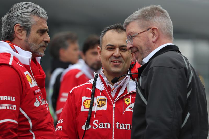 """F1   Brawn sulle minacce d'addio della Ferrari: """"Sono sorpreso, ma vogliamo che rimanga"""""""