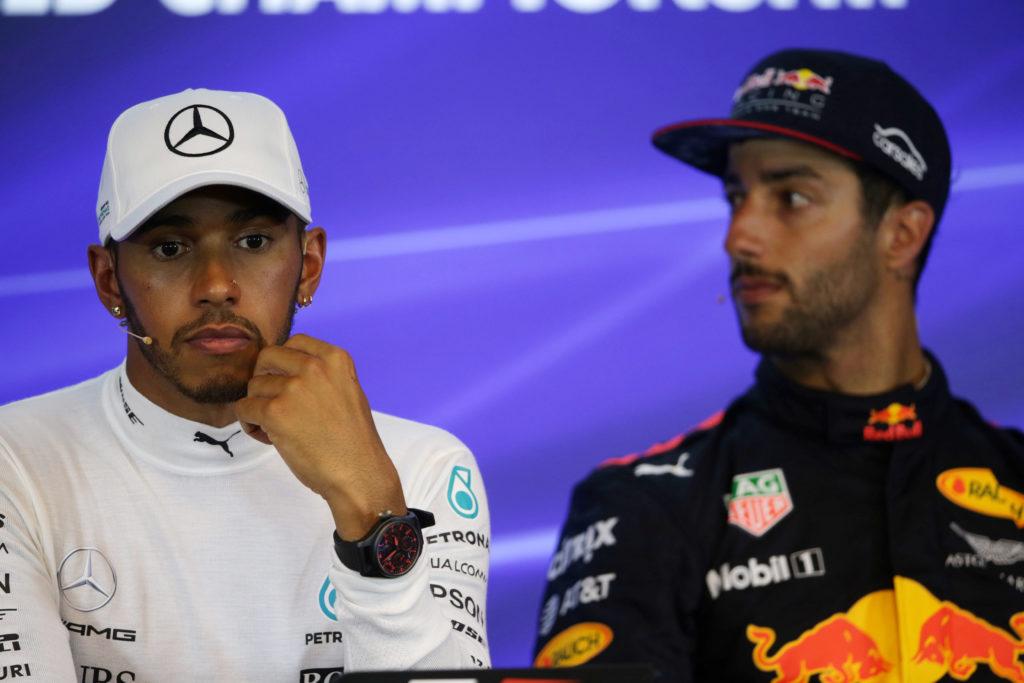 """F1   Ricciardo: """"La carriera di Hamilton è decollata dal suo passaggio in Mercedes"""""""