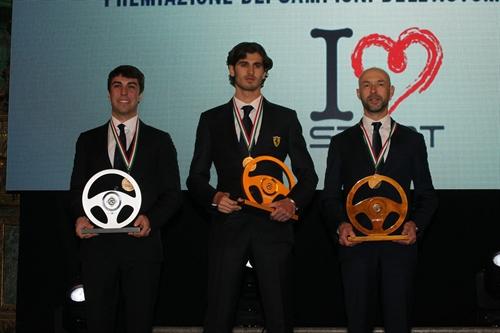 Al Monza Eni Circuit  la premiazione dei Campioni del Volante 2017