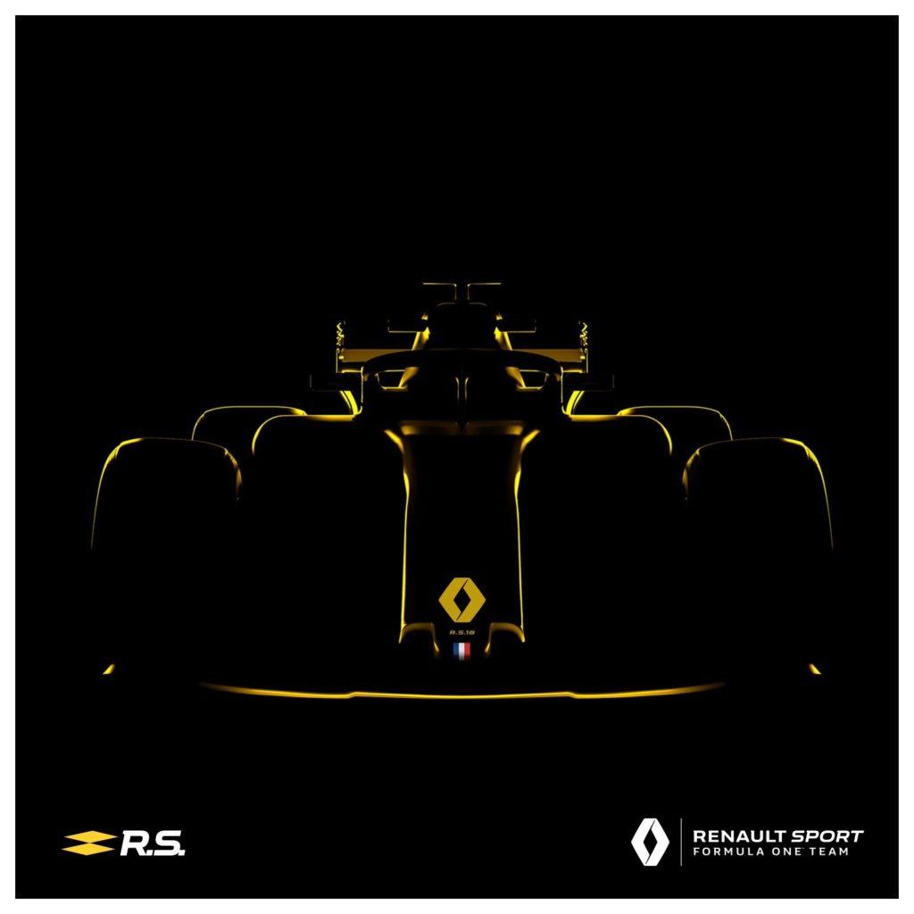 Formula 1 | Confermata la data di presentazione della Renault RS18