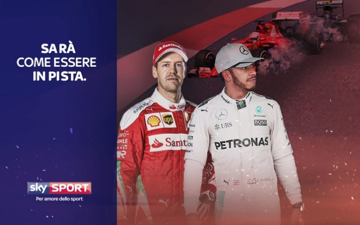 F1 | Sky conferma l'acquisizione dei diritti tv per il triennio 2018/2020. Ufficiale l'addio della Rai