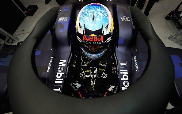 F1   Red Bull, Ricciardo a muro nel filming day di presentazione della RB14