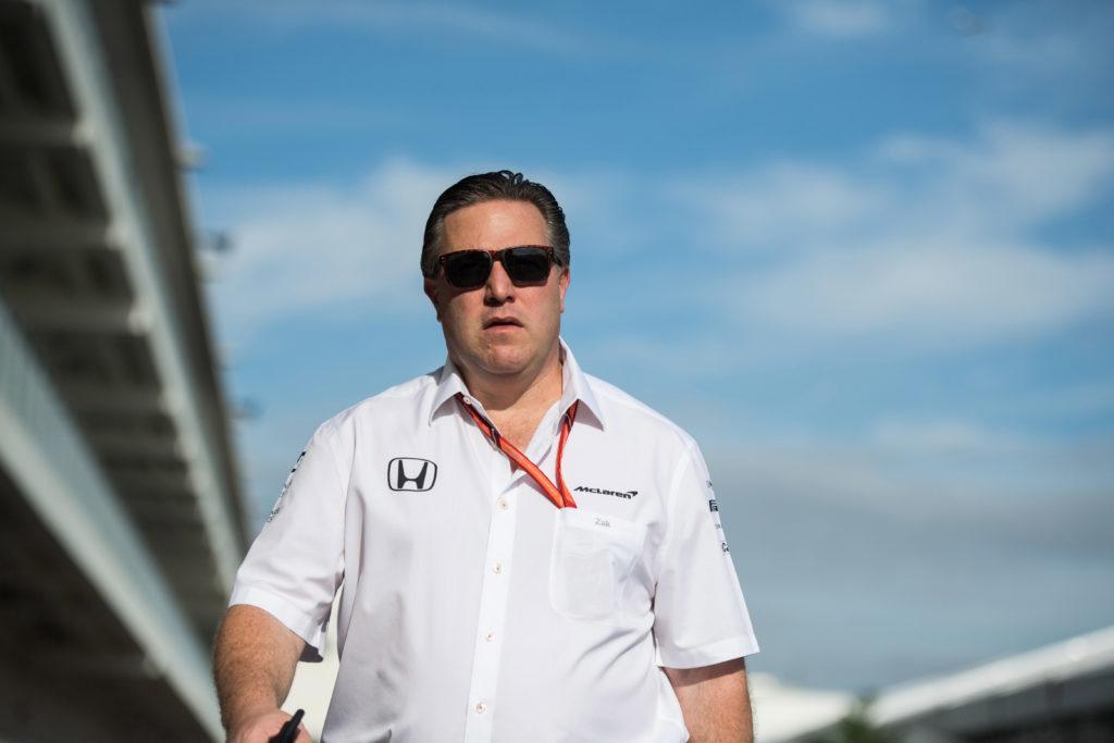"""F1   McLaren, Brown: """"Non avremo un main sponsor nel 2018"""""""