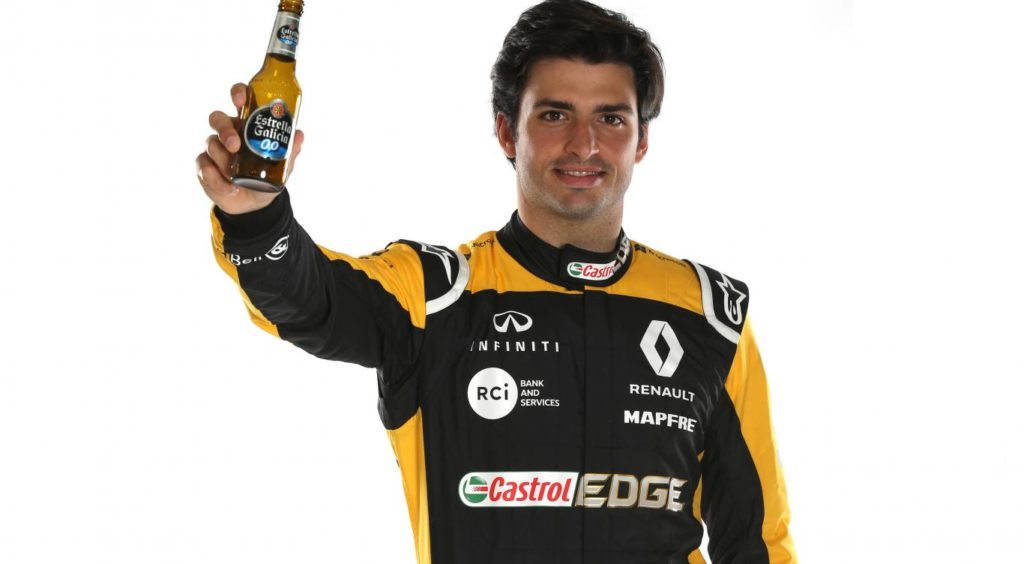 Formula 1   Renault, rafforzata la partnership con Estrella Galicia 0,0