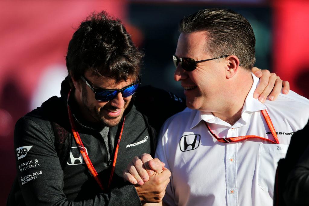 """F1   McLaren, Brown: """"Alonso impegnato nel WEC? La priorità resta la Formula 1"""""""
