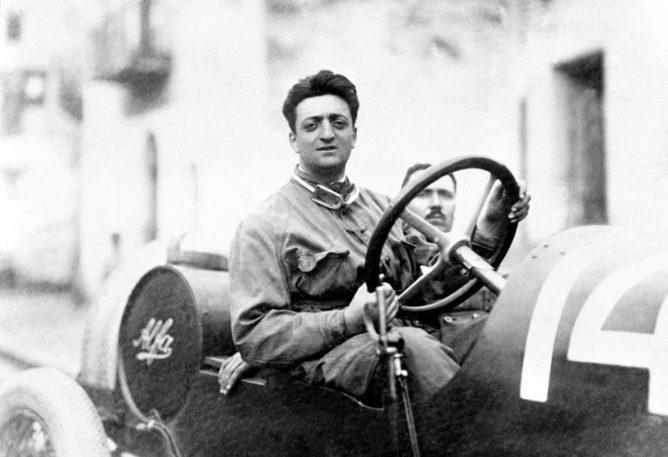 F1   Una mostra per i 120 anni di Enzo Ferrari