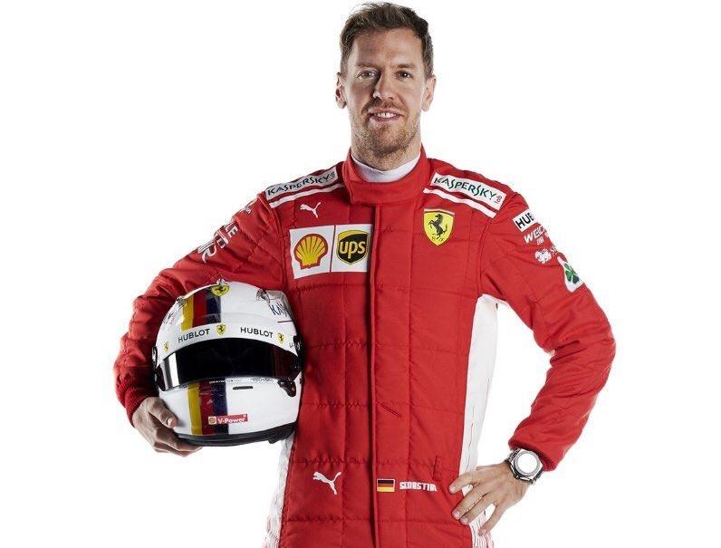 F1   Il nuovo casco di Sebastian Vettel