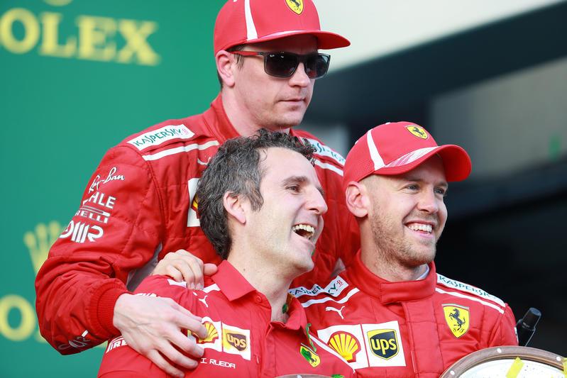"""F1   """"Ma come; Seb non si è ancora fermato?"""" i timori di Raikkonen, la lealtà reciproca con la Ferrari…"""