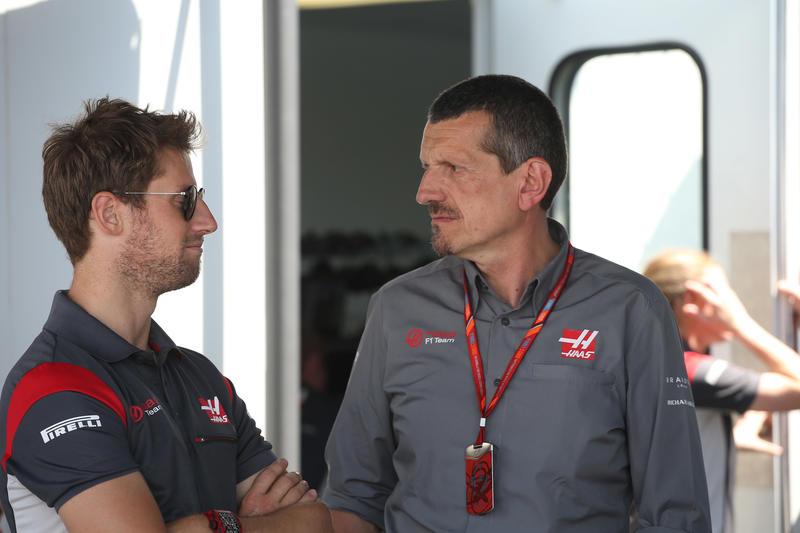 F1   Steiner contento del passo della Haas